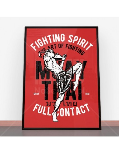Plakat Fighting Spirit