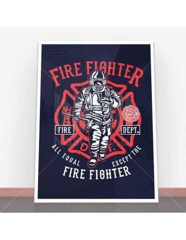 Plakat Fire Fighter
