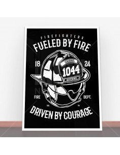 Plakat Fueled By Fire