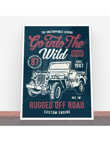 Plakat Go Into The Wild