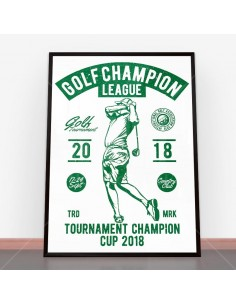 Plakat Golf Champion League
