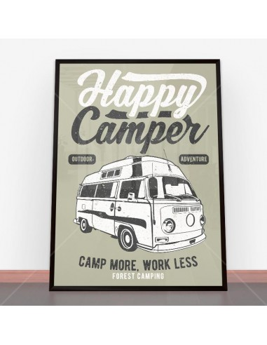 Plakat Happy Camper