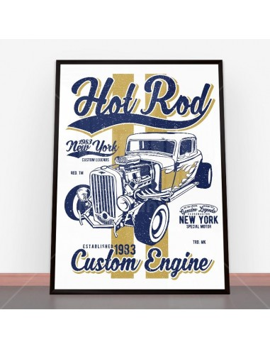 Plakat Hot Rod New York