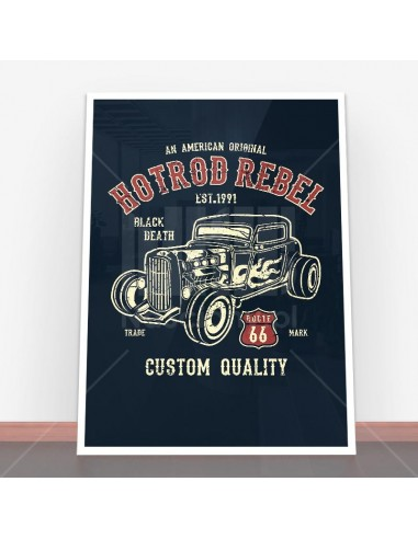 Plakat Hot Rod Rebel