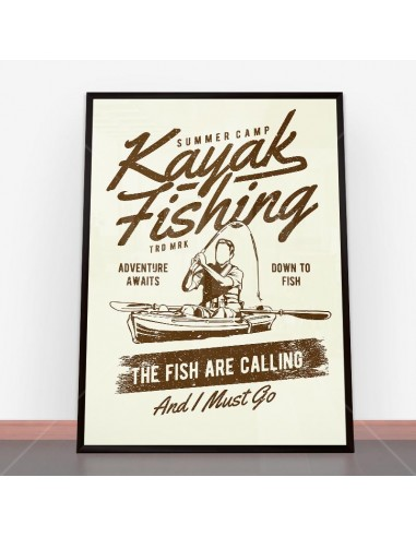 Plakat Kayak Fishing