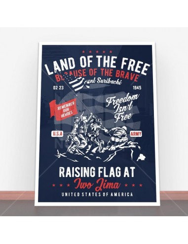 Plakat Land Of The Free