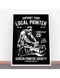 Plakat Local Printer
