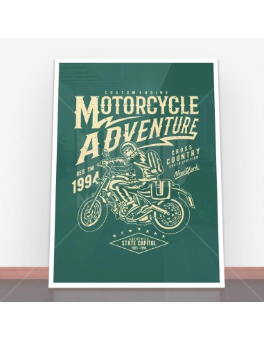 Plakat Motorcycle Adventure