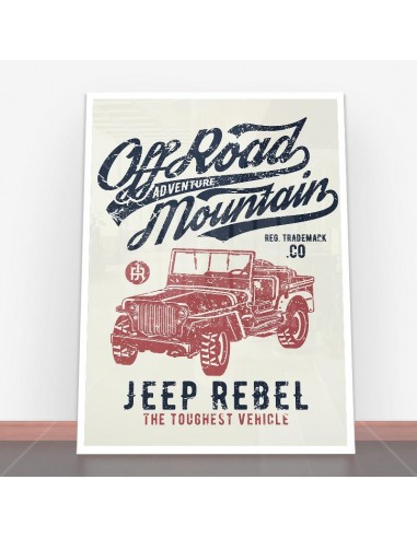 Plakat Off Road Jeep