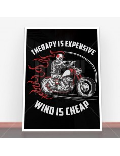 Plakat Therapy is Expensive