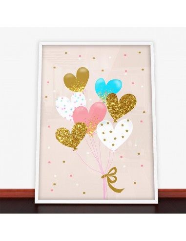 Plakat Heart Balloon