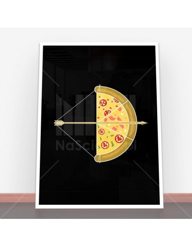 Plakat Arrow Pizza