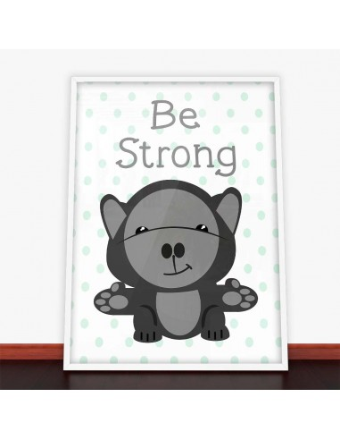 Plakat Be Strong